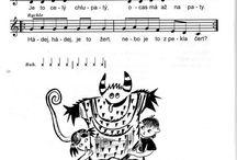 školka - písničky