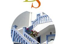 "Dionysis Studios / Hotel Semiramis is a hospitable, family-run hotel in a quiet neighborhood of Adamas, the most beautiful village of Milos island, conveniently located close to the village center. Semiramis Hotel stands in a beautiful vine-covered garden, a short walk (just 100 meters) from the central village square, 200 meters from the water, 300 meters from the Adamas seaport, and about 500 meters from the ""Blue-FlAG Papikinos beach."