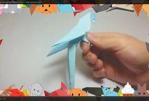 Оригами / Как сделать из бумаги? Все здесь!)