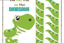 Dinosaur themed party ideas