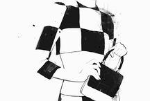 fashion illustration - Floyd Grey