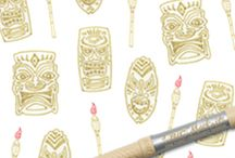 Tiki Hut Tan / Tiki Hut Tan / by BIC Mark-It