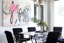 dining spaces / by Meg Hines