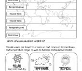 Geography - Climatic zones