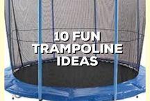 TRAMPOLINE FUN IDEAS