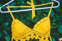 εσώρουχα& μπλουζάκια/ crochet lingerie and tops
