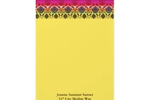 My Designs: Stationery / by Nancy Lorene