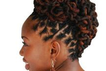 Dreads up do