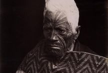 """Elizabeth Pulman Photography (1836 - 1900) / Some times we forget that the way tupuna dressed in the late 1800s was essentially the same as Pakeha.   Either these rangatira all have """"matching korowai, or ... this korowai is in fact a studio prop."""