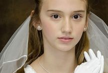 Irish Claddagh/Trinity Knot First Communion Tiara / First Communion Irish Claddagh tiara or hairpiece. Both are made in Ireland and available at Christian Expressions