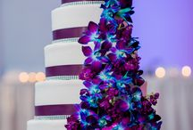 Turquoise and Plum Wedding Colour Scheme