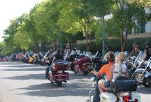 2013 Hot Springs around town / Different motorcycles around the convention center and town during the rally