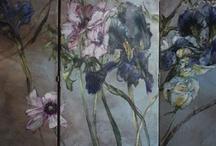 Per Olsen blomster maling