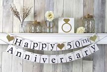 wedding anniversary / 50th wedding anniversary