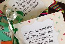 class/teacher Xmas gift ideas