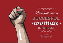 Women's Day Ecards / Fabulous ecards, featuring motivational messages and compliments for all women out there. Huge bonus, each card comes with a personalized melody that includes the notes in the receiver's name, written and fully orchestrated by composer Johnny Harris. #womensday #gift #ecard
