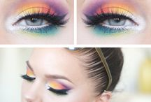 Colourful Makeup
