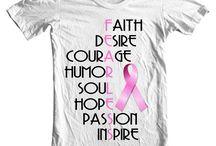 Breast cancer shirt / by Annie Knish-Mitchell
