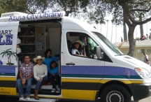 The Wheels on the Van Go Round and Round / The adventures of the Azusa Library Bookmobile