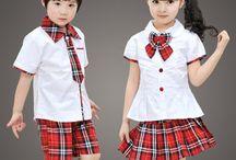 camisa escolar niña