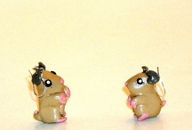 My Store HeadOverHamsters / These are the hamster cards, jewelry, figurines, and keychains I make and sell on Etsy. Custom orders are welcome. My site is http:/www.HeadOverHamsters.Etsy.com. / by HeadOverHamsters by Lindsay Russell
