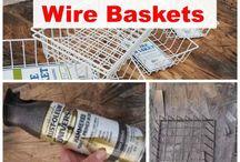 DIY baskets  & more