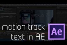 AE motion tracking how to