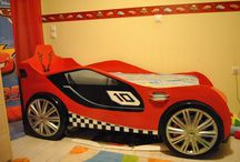 bed car / the bed i made for my son