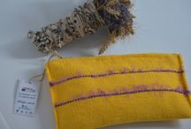 Handwoven pouches