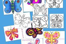 Dibujos para colorear / by Escuela en la Nube