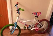 Girls bike for sale BMX 20 inch in height great bargain..