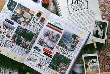 travel/polaroid journal