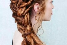 Dreadlocks Wedding Hairstyle