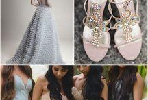 Blush & Blue Wedding