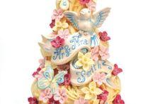 wedding cakes / by Laura Jane Smith (Godfrey)