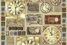Papel - relógio