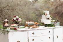Cake Tables / by Cherry Bomb Events