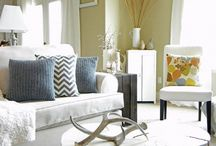 Patterns & Colors in White Room
