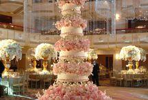 wedding cake/ cake topper / by Sharon's Bridal