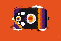 Illustration / Form & Farbe --+ Inspiration & Selbstgemachtes --+ Freude