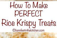 Rice krispies marsmellow