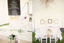 Inspiration {Marquee wedding} / by Little Gray Station - Wedding and Event Design