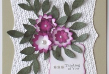 Boho Blossoms Stampin Up! Punch Greeting Cards