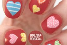 Nails - Valentines Day Nail Art