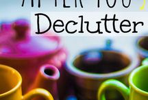 Declutter / by Sharon Fick