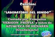 Cancion Laboratorio del Sonido en distintas localidades de España