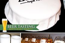 Beer Birthday Party ideas