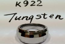 Tungsten Jewelry / Tungsten Jewelry by Alexander Kalifano