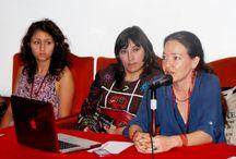MUJERES EN ESCENA RUEDA DE PRENSA / Talleres, encuentros y presentaciones de teatro en Quito