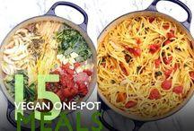 Vegansk mad / Opskrifter og links